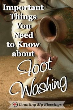 Jesus taught us some important things in His simple act of foot washing and you may be excited to know you're doing more of them than you think.