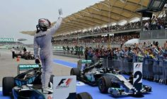 Lewis Hamilton leads from the front to win his first Malaysian Grand Prix | Sport | theguardian.com / March 30th, 2014 / http://www.theguardian.com/sport/2014/mar/30/lewis-hamilton-wins-f1-malaysia-gp