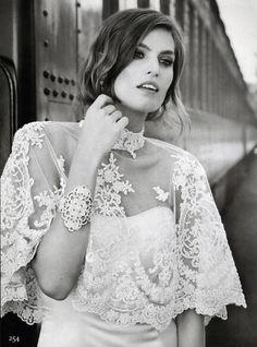 UTOPIA Make Up Artist CLELIA BERGONZOLI for BRIDES Magazine. www.utopianyc.com.