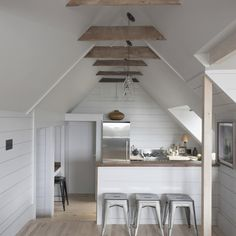 14 Tricks for Maximizing Space in a Tiny Kitchen, Urban Edition (Remodelista: Sourcebook for the Considered Home) House Design, House, Small Spaces, Interior, Home, Mini Kitchen, Tiny Kitchen, Rustic Kitchen, Attic Apartment
