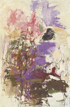 Joan Mitchell, Untitled A master with color and brushwork!