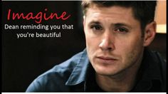 """"""" Watcha ya doing?"""" Dean asks when he enters the library."""" you reply."""" He says sitting across from you. He stares at you while you work."""" He says smiling at you. Supernatural Fanfiction, Supernatural Baby, Supernatural Imagines, Supernatural Cartoon, Winchester Supernatural, Dean Winchester Imagines, Winchester Boys, Bobby Singer, Super Natural"""
