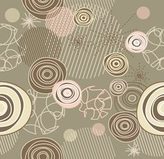 Retro Scribble & Circles Abstract Vector Pattern - http://www.welovesolo.com/retro-scribble-circles-abstract-vector-pattern/