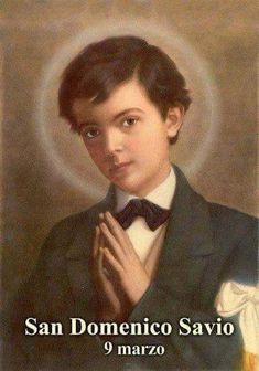 """""""Non sono in grado di fare grandi cose, ma voglio che tutto ciò che faccio, anche la cosa più piccola, sia per la maggiore Gloria di Dio."""" (San Domenico Savio)"""