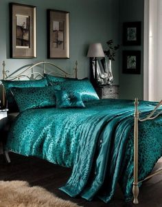 Orange And Dark Teal Bedding King Size Teal Bedding Home Decor - Dark teal bedding