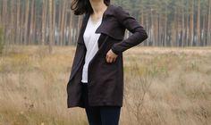 Linen jacket Linen slit jacket Linen jacket with pockets Summer jacket Jacket with pockets (80.00 EUR) by CollectionWN