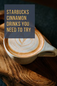 The brilliant idea of Starbucks' baristas to a dash of cinnamon to some of their drinks begun decades ago. Cinnamon is famous for its unique taste, so it's added to drinks, pastries, and other snacks. In this article, we explore the different ways how cinnamon adds value to each coffee drink. I will also list some of the coffee drinks served with cinnamon from Starbucks so keep reading to find out something new. #starbucks #coffee Coffee Cream, Coffee Type, Black Coffee, Cinnamon Drink, Cinnamon Coffee, Iced Chai Tea Latte, Cinnamon Dolce Latte, Ice Caramel Macchiato, Sweet Whipped Cream
