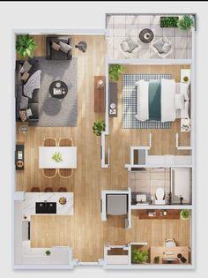 House Floor Design, Sims 4 House Design, Small House Interior Design, Interior Design Software, Home Room Design, Tiny House Design, Sims House Plans, House Layout Plans, Floor Plan Layout