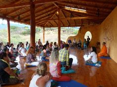 Meditatie at the Izhcayluma lodge