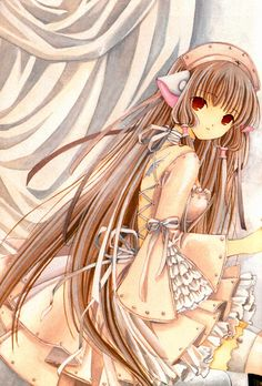 I also would love this dress. Me Anime, Anime Hair, I Love Anime, Kawaii Anime, Chobits Anime, Chobits Cosplay, Hayao Miyazaki, Vocaloid, Xxxholic