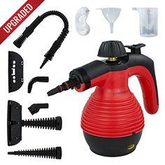 Steam Cleaner Nettoyeur Vapeur: 👍 MULTI-USAGE: Nettoyeur Vapeur portable polyvalent pour nettoyage en profondeur. Élimine la graisse et la…