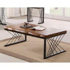 Welded Furniture, Iron Furniture, Steel Furniture, Home Decor Furniture, Table Furniture, Furniture Design, Tea Table Design, Wood Table Design, Esstisch Design
