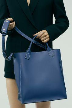 The Acne Studios Hero jeans blue denim shopper bag #AcneStudiosBags