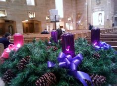 Advent Season by Gardenia Hung-Wittler on Capture My Chicago // Advent Season At St. Peter's Church In The Loop