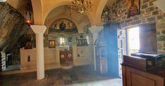 Gedenkkirche in der Kourtaliliotis Schlucht Kirchen, Travelling, Painting, Art, Mosque, Temples, Art Background, Painting Art, Kunst