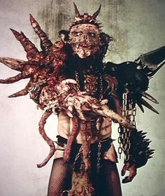 Oderus Urungus of Gwar. time for you to go back to your home planet. You will be missed.