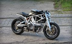 Nick's Ducati Club Racer - Detroit - the Bike Shed
