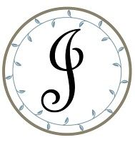 I love this idea to put this monogram onto a lampshade (maybe for a bedroom).