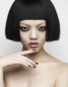 rila fukushima | Rila Fukushima of Trump Models photographed by Franklin Thompson ...