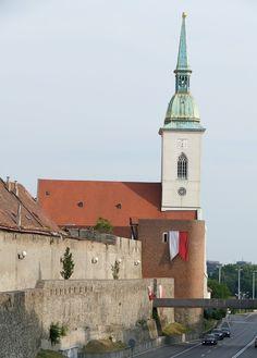 Castle, Bratislava, Slovakia, Castle, Old Town Bratislava Slovakia, Eastern Europe, Old Town, Things To Come, Explore, Adventure, Cathedrals, World, Building