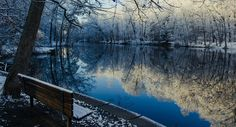 Reflections on a cold day. [4953x2670] [OC]