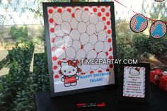 "Photo 23 of 51: Hello Kitty / Birthday ""Hello Kitty Themed Birthday Party"" | Catch My Party"