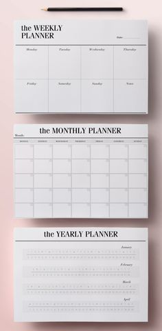 Planer zum Ausdrucken A5 Pack, 13 modernen Organizer-Seiten einschließlich Tagesplaner, Meal Planner, wöchentliche Agenda, To Do List, INSTANT DOWNLOAD von CrossbowPrintables
