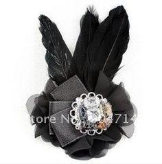 Feather broach corsage!! Moms, Grandma, Aunts <3