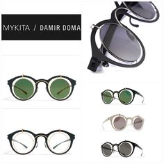 Mykita Collaboration / DAMIR DOMA mod. Bradfield Limited Edition #mykita #damirdoma #bradfield #limitededition #Berlin #stylish #design #sunglasses #eyeglasses #otticagiuliettieguerra #brille #occhiali