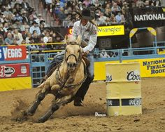 Smooth Approach - World Champion barrel racer Sherry Cervi provides suggestions for correcting a choppy barrel entry.