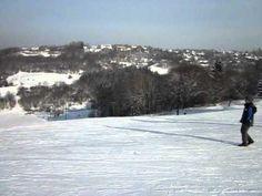 Hohegeiß Braunlage Ski Piste Zentrum 2012