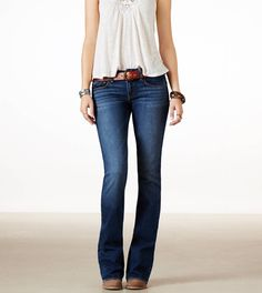 AE artist jeans fit fantastic in size 8/long. It would be awesome to have some.