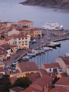 Sardinia, Isola Maddalena, Italy.  This is the town of La Maddalena where we lived for two years with the Navy.