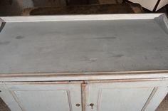 Swedish Gustavian Painted Cabinet image 8