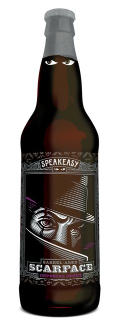 Scarface Imperial Stout aged in bourbon barrels — Speakeasy Ales & Lagers