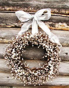 baby's breath wreath. my next DIY project!