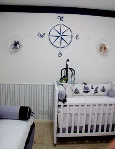Baby room by STUDIO NOBLE SAVAGE:  Quarto de bebê. Como um onda no mar...