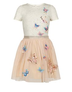 Princess dress for little girls, I could see this being a favorite dress, Butterfly dress, spring style ideas, girls dress