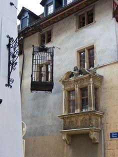 City of Aarau, Canton Aarau, Switzerland (this used to be a pet shop) Swiss Design, Old Windows, Zermatt, Beautiful Places To Travel, Wonderwall, Old Doors, Winter Travel, World Traveler, Pet Shop