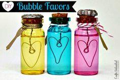 DIY Bubbles - Make Your Own Bubble Party Favors