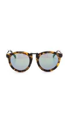 { karen walker mirrored tortoise }