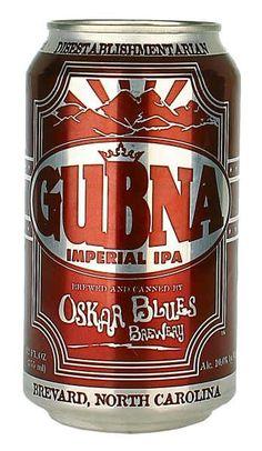 Oskar Blues Gubna Imperial IPA