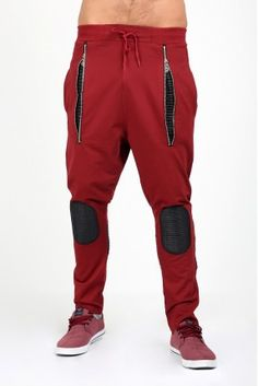 Bordo Derili Erkek Eşofman King Fashion, Gents Fashion, Sport Fashion, Trouser Pants, Jogger Pants, Pants Pattern, Alter, Pajama, Casual Pants
