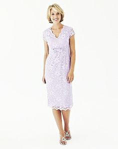 Nightingales Lace Dress L41in