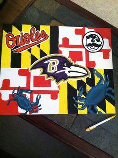 Maryland flag ravens boh orioles