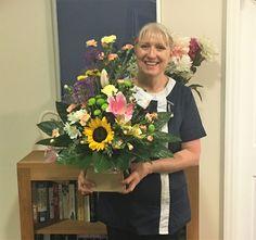 Flowers for Ann & team  - Springhill Care Home