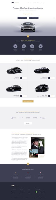 Dribbble - limo-service.png by Adriano Reyes