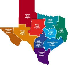 The 10 Heritage Trails Regions of Texas