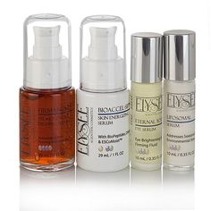 Shop Elysee Youth-Enhancing 4-piece Serum Collection, read customer reviews and more at HSN.com.