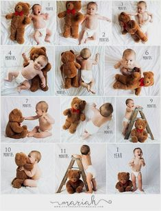 Pregnancy photos- Schwangerschaftsfotos I like how they added the ladder. It shows the child's growth in multiple directions photos - Monthly Baby Photos, Newborn Baby Photos, Baby Poses, Newborn Shoot, Newborn Baby Photography, Newborn Pictures, Weekly Pregnancy Pictures, Baby Bump Photos, Funny Baby Pictures